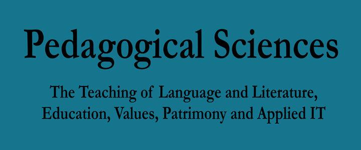 Pedagogical Sciences
